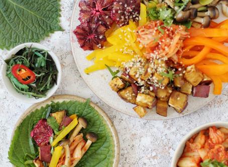 Korean-Inspired Perilla Leaf Tacos