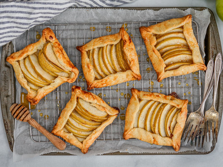 Apple and Honey Galettes