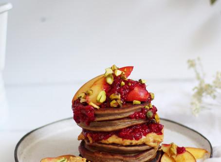 Chestnut Flour Protein Pancakes