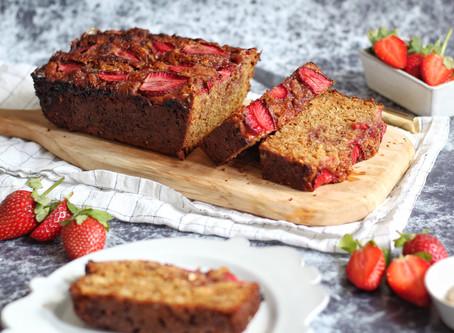 Peanut Butter & Strawberry Loaf (PB&J Loaf)
