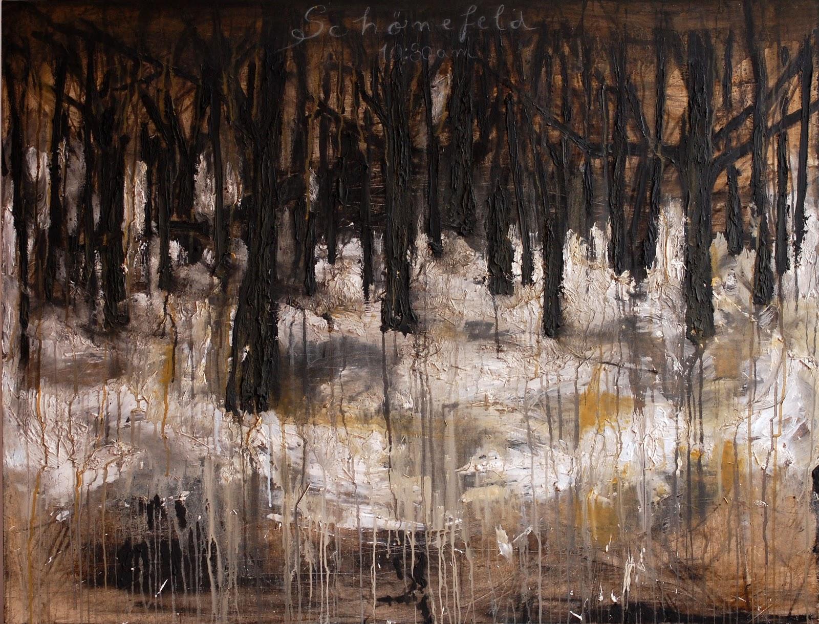 Cosmin Fruntes Schonefeld  mixed media on canvas  100x130 cm