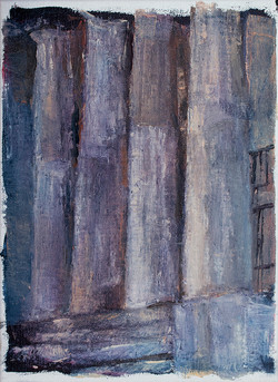 Ciprian Bodea _ Column _ oil on canvas _ 25 x 34 cm _.jpg