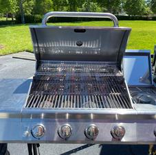 Large 4 Burner Grill