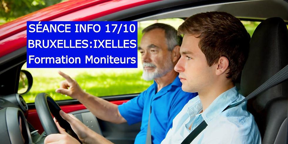 Séances Infos BRUXELLES - Formation Moniteurs 17/10