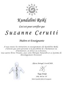 Certificat Kundalini Reiki