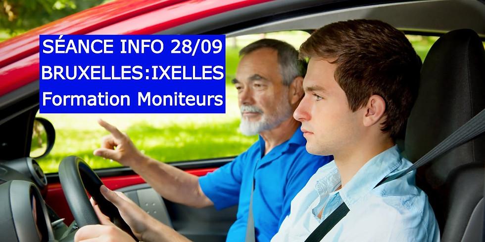 Séances Infos BRUXELLES - Formation Moniteurs 28/09