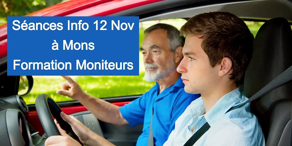 Séances Infos MONS - Formation Moniteurs 12/11