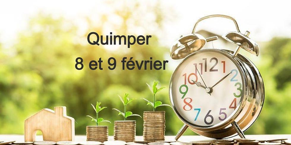QUIMPER 8 & 9 février 2020-  Avec ou sans argent soyons libres