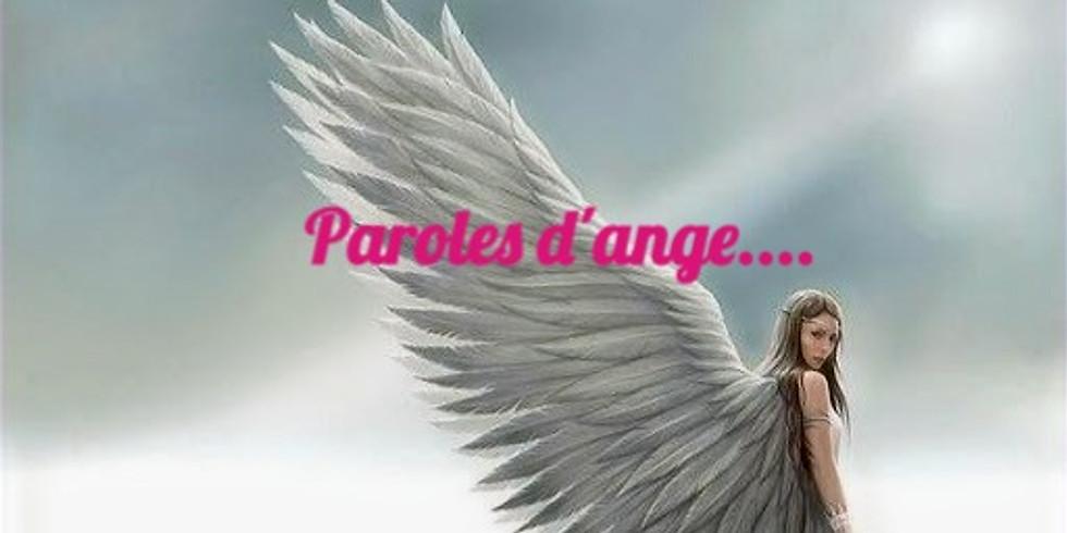 Paroles d'ange…