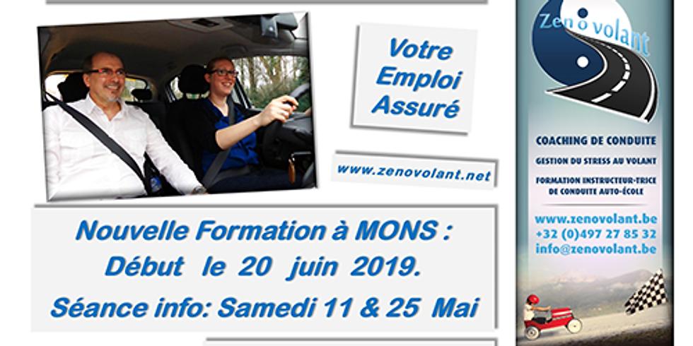 Séances Infos MONS 25/05 - Formation Moniteurs