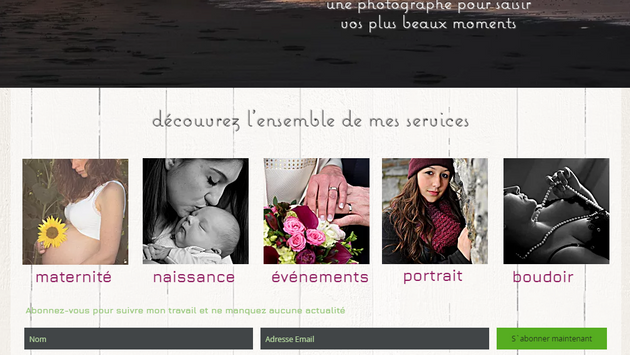 Valérie Morreale site