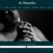 Au masculin photographie