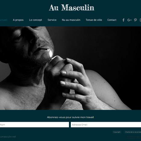 Au masculin photographie