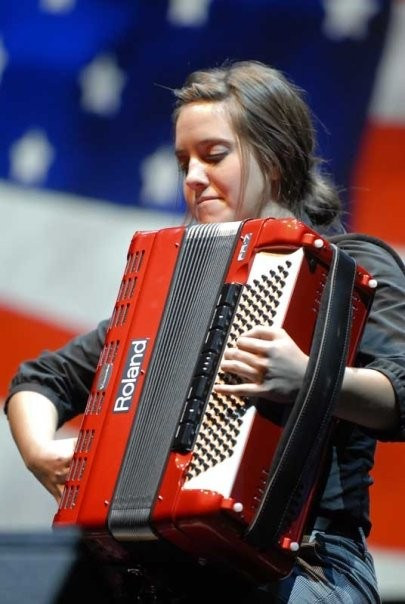 Roland V-Accordion Competition in Rome, 2009