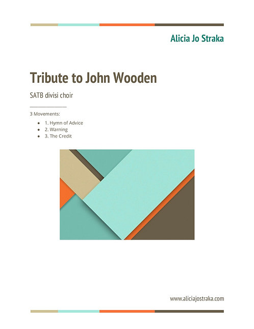 Tribute to John Wooden