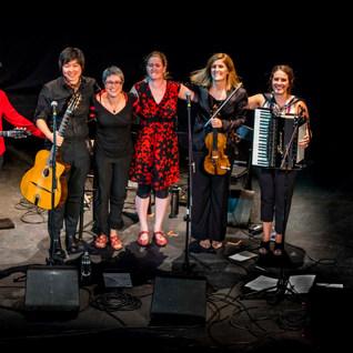 Performing at Django in June, 2019