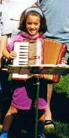 First accordion - age 6