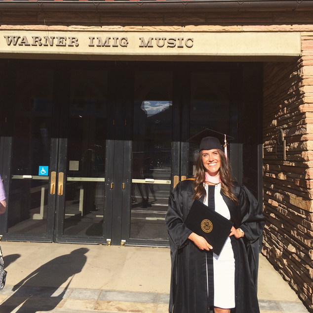 Master of Music Degree from CU Boulder