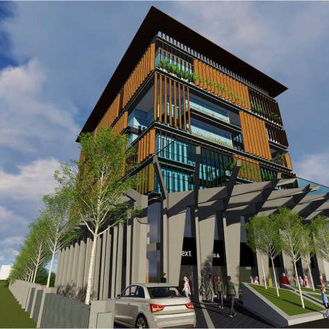 COMMERCIAL BUILDING AT VIJAYAWADA