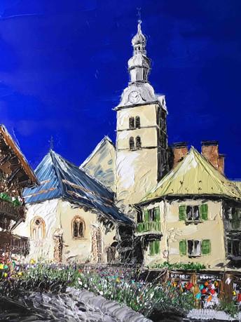 """""""Place St Paul, Megève"""""""