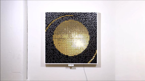 """Solar Echo"" 4/8 88cm x 88cm"