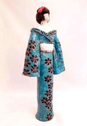 """Geisha turquoise"""