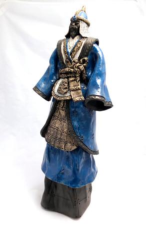 """Grand samouraï bleu"""