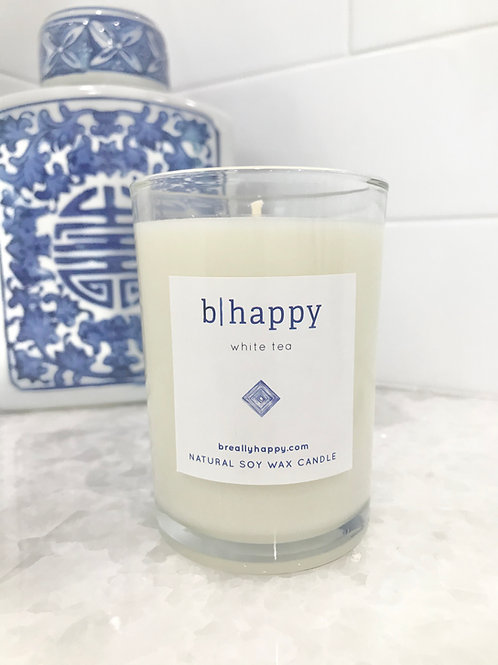 8.5oz White Tea Soy Candle