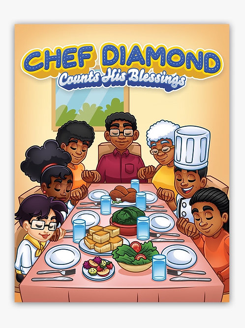 Chef Diamond Counts His Blessings