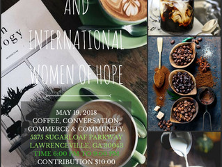 Join Us for Coffee, Conversation, Commerce and Community!