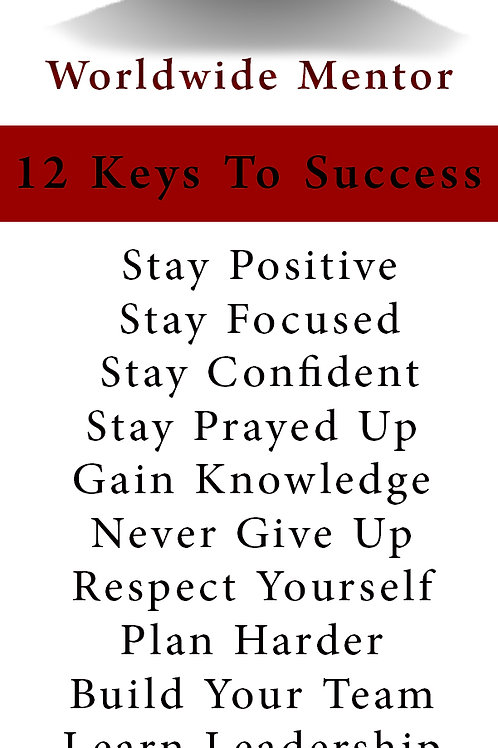 Successful Young Woman - Bookmark