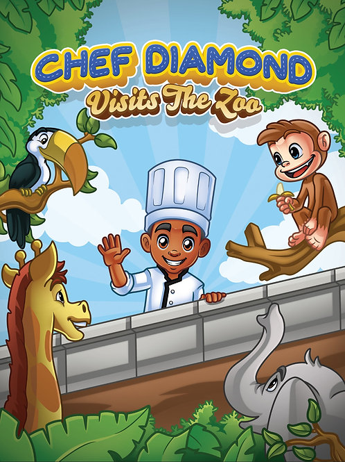 Chef Diamond Visits The Zoo