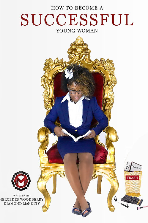 Successful Young Woman - Book