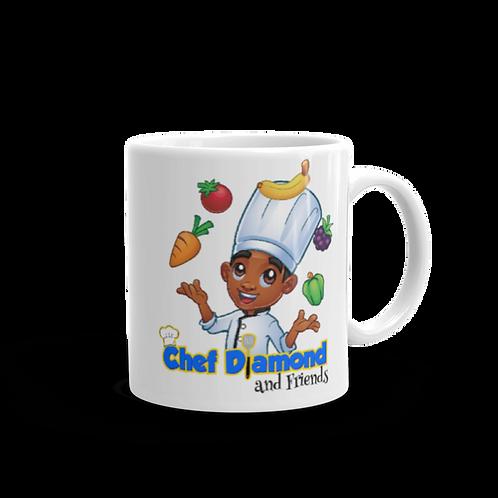 Chef Diamond and Friends Mug
