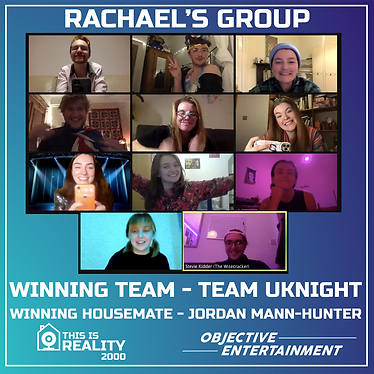 Rachael's group playing THIS IS REALITY 2000