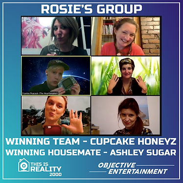 Rosie's group playing THIS IS REALITY 2000
