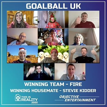 Goalball UK playing THIS IS REALITY 2000