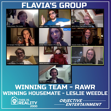 Flavia's group playing THIS IS REALITY 2000