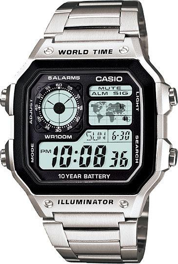 Часы Наручные CASIO AE-1200WHD-1A