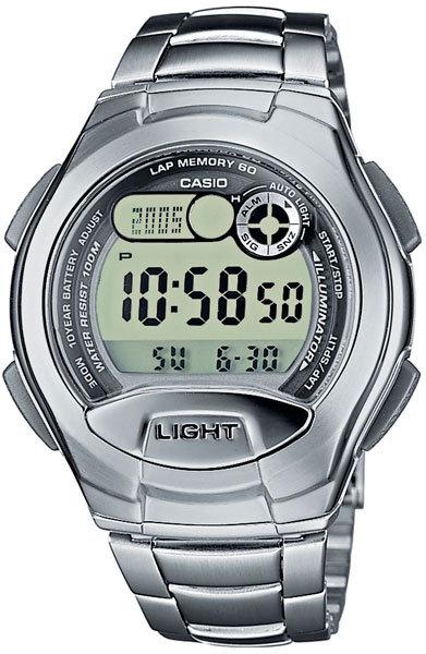 Часы Наручные CASIO W-752D-1A