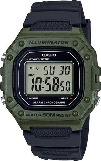 Часы Наручные CASIO W-218H-3A