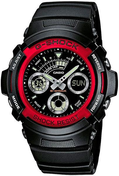 Часы Наручные CASIO AW-591-4A
