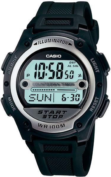 Часы Наручные CASIO W-756-1A