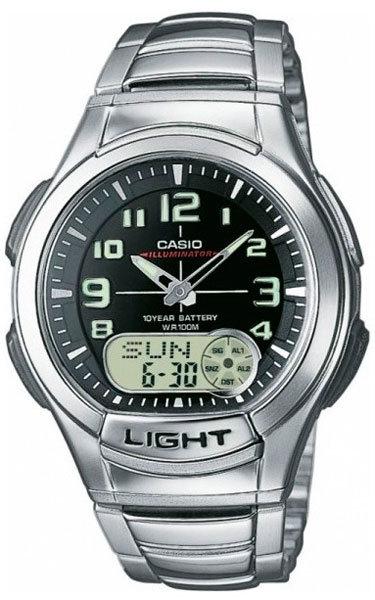 Часы Наручные CASIO AQ-180WD-1B