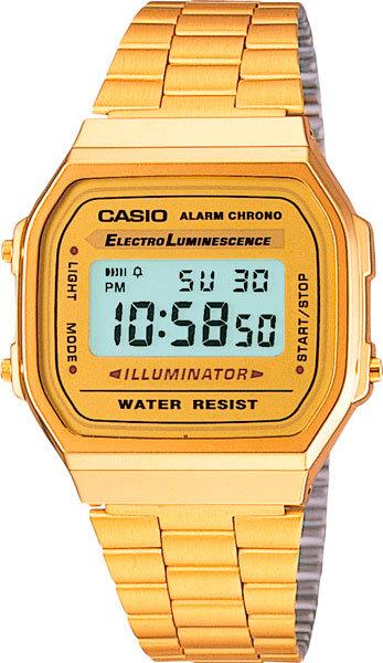 Часы Наручные CASIO A-168WG-9E