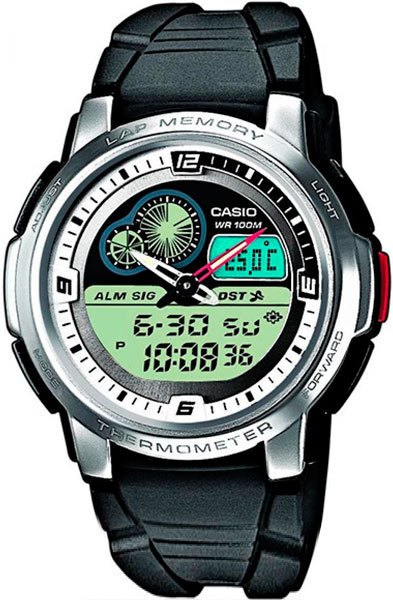 Часы Наручные CASIO AQF-102W-7B