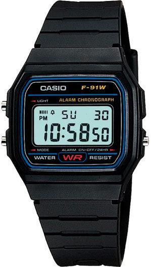 Часы Наручные CASIO F-91W-1Q