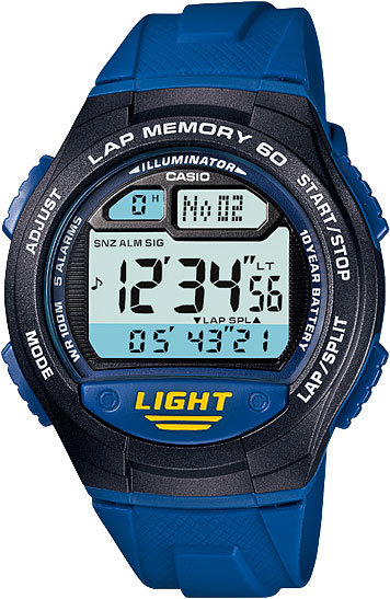 Часы Наручные CASIO W-734-2A