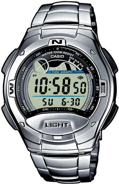 Часы Наручные CASIO W-753D-1A