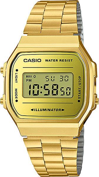 Часы Наручные CASIO A-168WEGM-9E